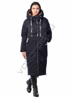 Зимняя куртка женская купить оптом (цвет Темн. синий 494, Черный 27), EVACANA 21175 - VODOROD Россия