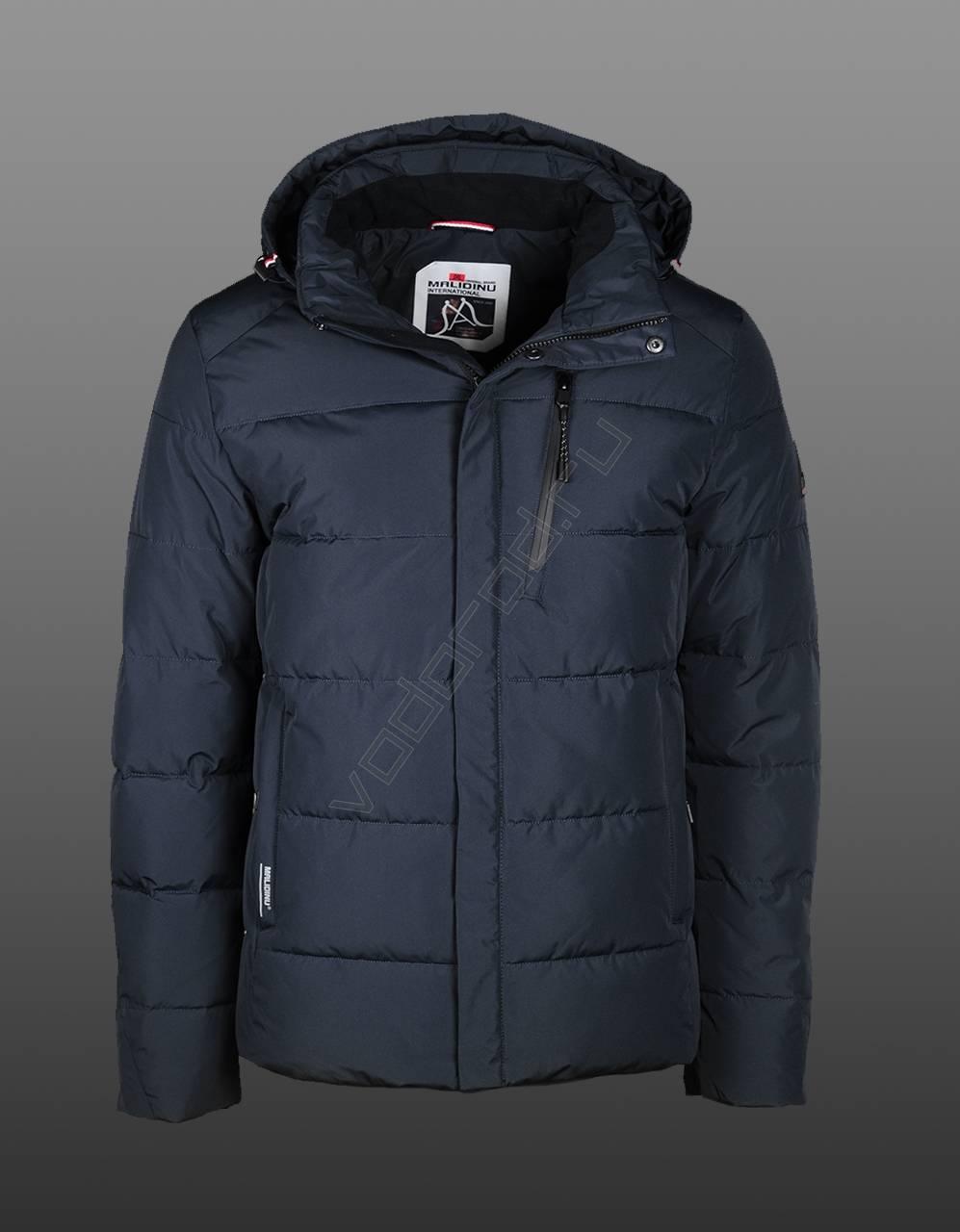 7d628732e7250 Зимняя куртка мужская купить оптом (цвет синий 203, кирпичный 802, темн.  синий 202), MALIDINU 19009 - VODOROD Россия