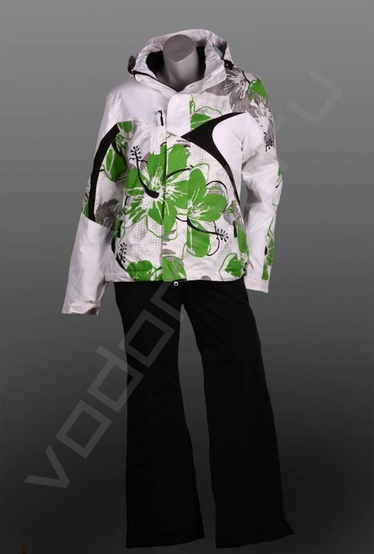 Горнолыжный костюмГорнолыжная одежда<br>Женский горнолыжный костюм, модная оригинальная расцветка, приталенная куртка. Горнолыжный костюм имеет брюки с защитными муфтами в нижней части штанины, регулируемый размер талии, защита поясничной части спины, отстегивающиеся лямки, так же используется анатомический крой области колена.<br><br>Цвет: зеленый<br>Размер INT: XL<br>Пол: Женский