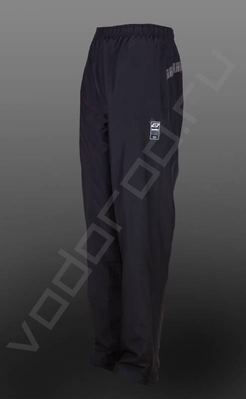 Брюки весна/летоБрюки<br>Спортивные мужские брюки, прямые, на резинке, два боковых карманы на молнии, ветрозащитная и дышащая ткань.<br><br>Цвет: темно-синий<br>Размер INT: 2XL<br>Пол: Мужской