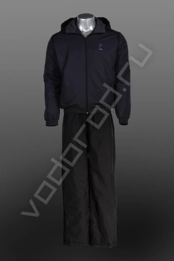 Спортивный костюмСпортивные костюмы<br>Мужской спортивный костюм итальянской фирмы LOTTO, сезон осень/зима, утепленный, на флисе, спокойные классические цвета, дышащие ветрозащитные ткани, безупречное качество.<br><br>Цвет: темно-серый<br>Размер INT: 2XL,3XL,L,M,XL<br>Пол: Мужской